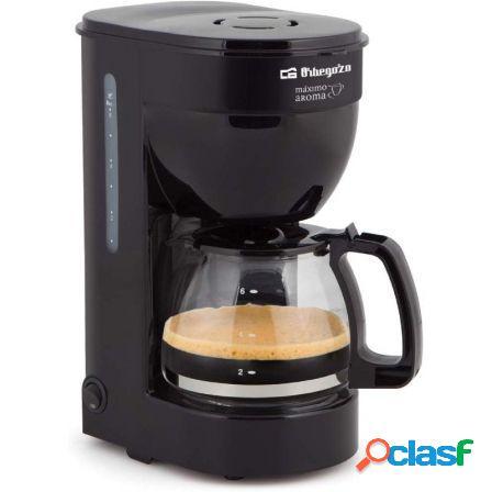 Cafetera de goteo orbegozo cg 4014 - 650w - 6 tazas - filtro