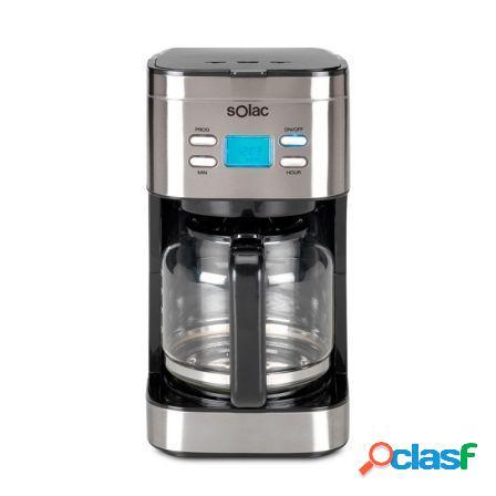 Cafetera de goteo solac digital stillo cf4028 - programable