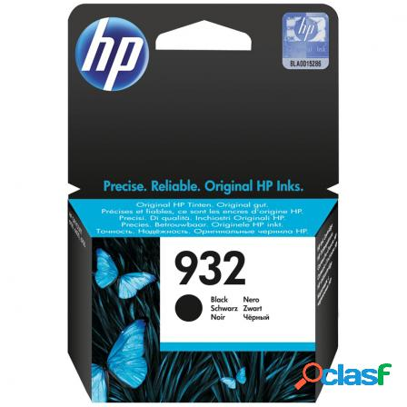 Cartucho negro hp n932 para hp officejet 6100 / 6600 / 6700