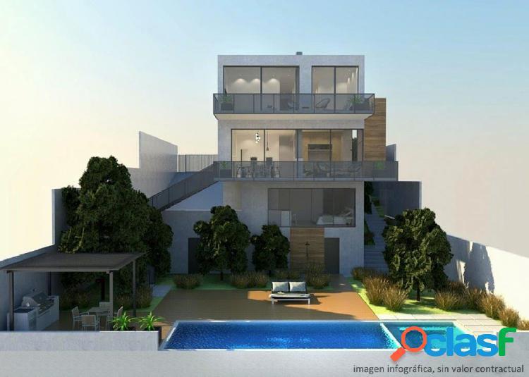 Casa a cuatro vientos en zona exclusiva de Castelldefels,