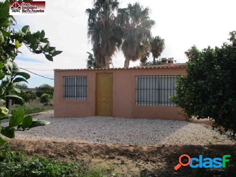 Casa con terreno en Villajoyosa, parcela de 3900 m2 rustica