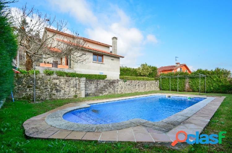 Chalé con piscina privada en Tomiño