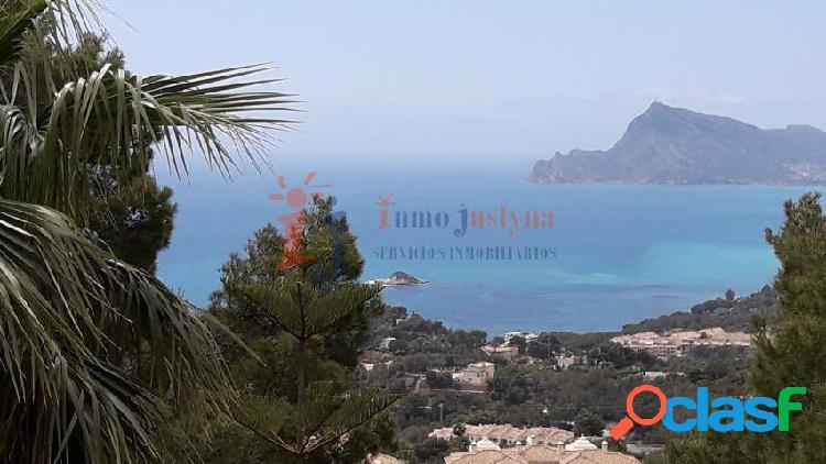 Chalet con vistas panorámicas al mar