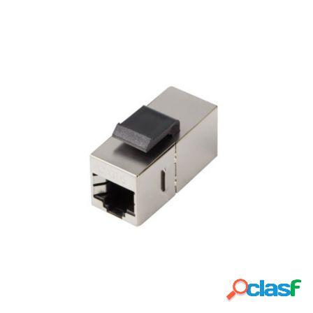 Conector rj45 feed-thru keystone lanberg ksf6-3000 - 2*rj45