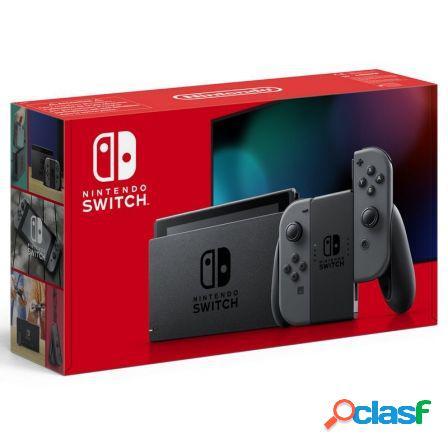 Consola nintendo switch grey v1.1 - consola + base + 2