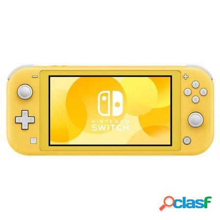 "Consola nintendo switch lite amarillo - pantalla 5.5""/13.9cm"