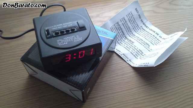 Despertador de alarma digital envio incluido