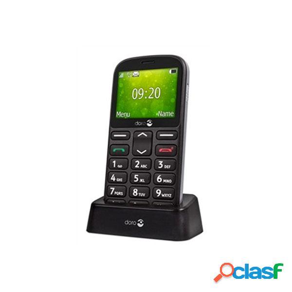 Doro 1361 telefono movil de teclas grandes negro