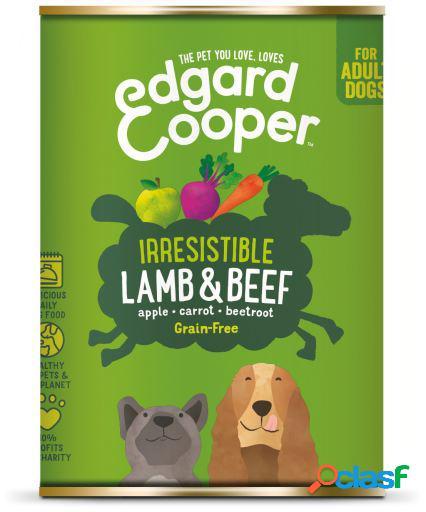 Edgard & Cooper Adult Lata sin Cereales con Cordero y Vacuno