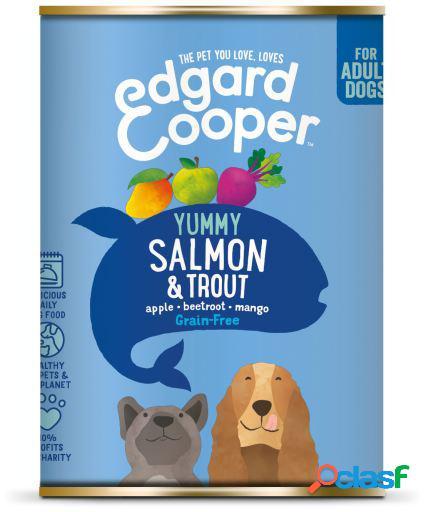 Edgard & Cooper Adult Lata sin Cereales con Salmon y Trucha