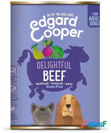 Edgard & Cooper Adult Lata sin Cereales con Vacuno 400 GR