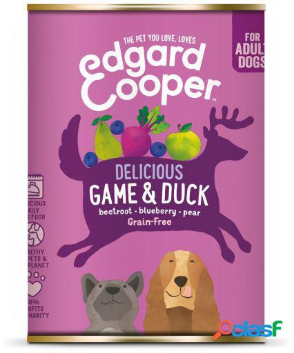 Edgard & Cooper Adult Lata sin Cereales con Venado y Pato