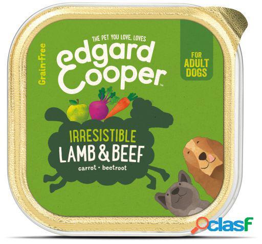 Edgard & Cooper Adult Tarrina sin Cereales con Cordero y