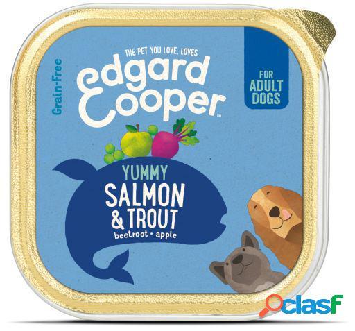 Edgard & Cooper Adult Tarrina sin Cereales con Salmón y