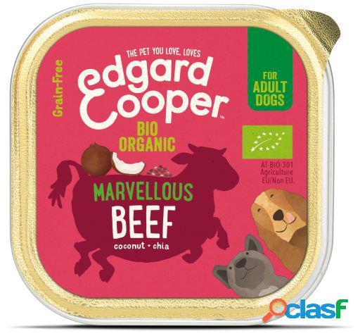 Edgard & Cooper Adult Tarrina sin Cereales con Vacuno