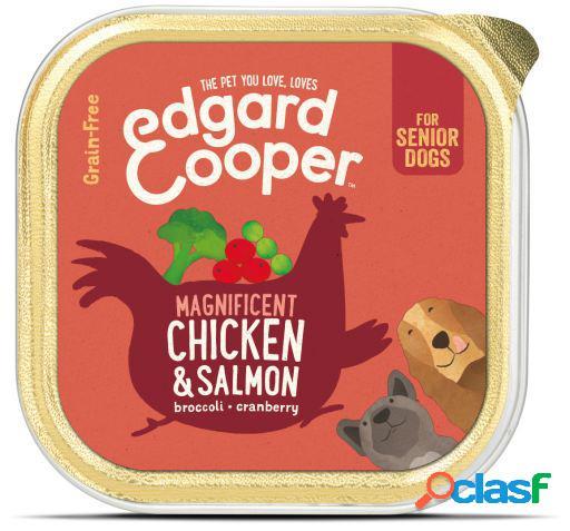 Edgard & Cooper Senior Tarrina sin Cereales con Pollo y