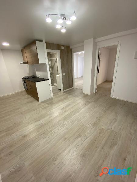 El apartamento está situado en