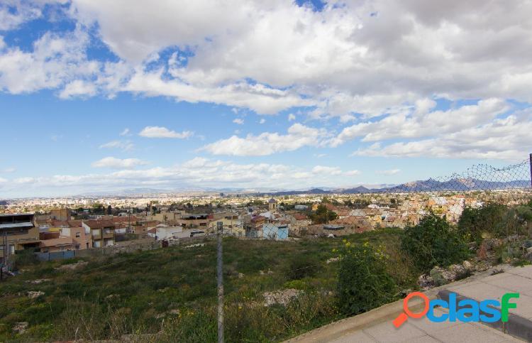 En Algezares, con maravillosas vistas