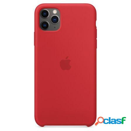 Funda apple iphone 11 pro max silicone case - product red -