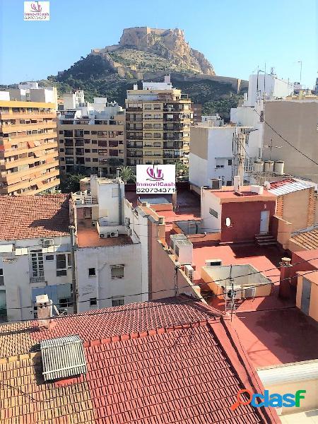 INMOVILCASH VENDE en centro de Alicante- Mercado ÁTICO con
