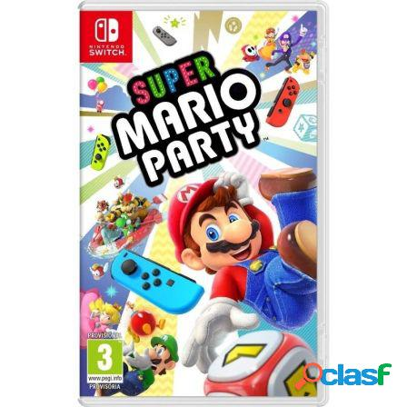 Juego para consola nintendo switch super mario party