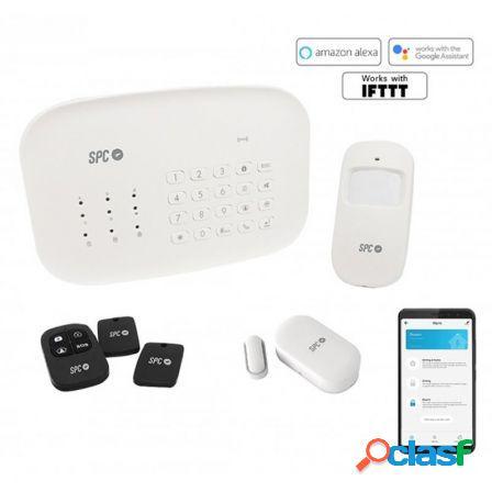 Kit alarma inteligente wifi spc interceptio compuesto por