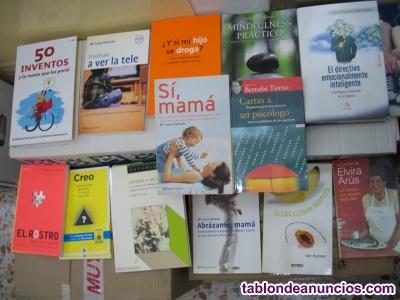 Lote de 550 libros (a 0,99 €) tematicos