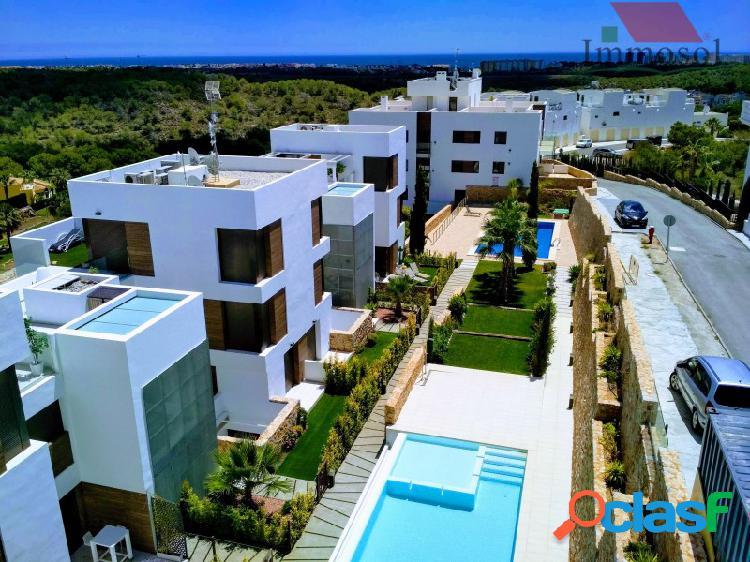 Magníficos apartamentos en Las Ramblas de Campoamor