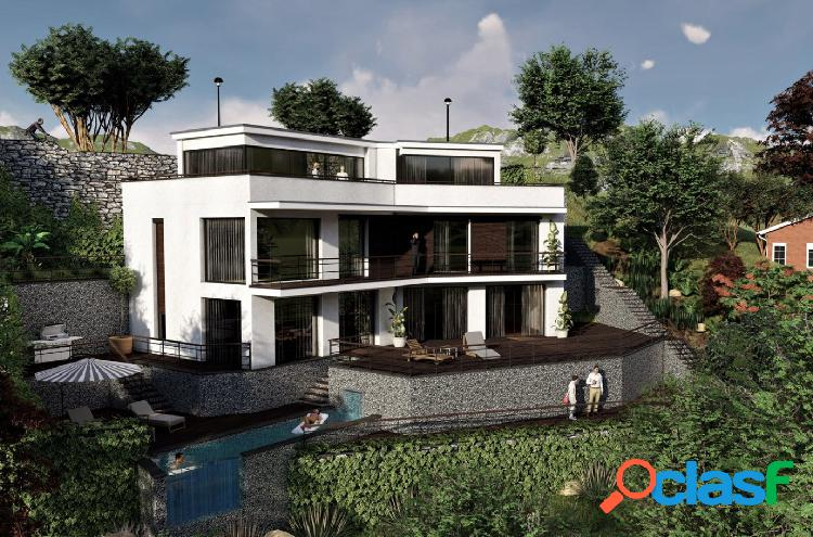 Magnifica casa de Obra nueva con terreno y piscina en Arenys