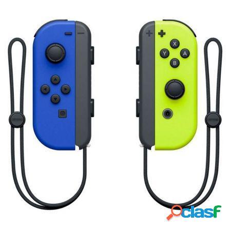 Mandos inalambricos nintendo switch joycon azul/amarillo
