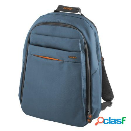 Mochila monray reverse blue - para portatiles hasta