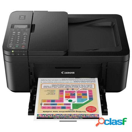 Multifuncion canon wifi con fax pixma tr4550 negra -