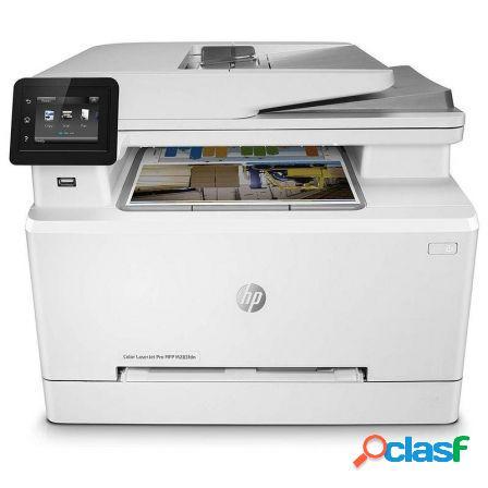 Multifuncion hp con fax laserjet pro color m283fdn -