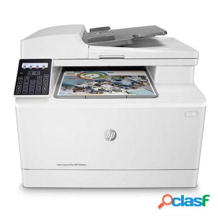 Multifuncion hp wifi con fax laserjet pro color m183fw -