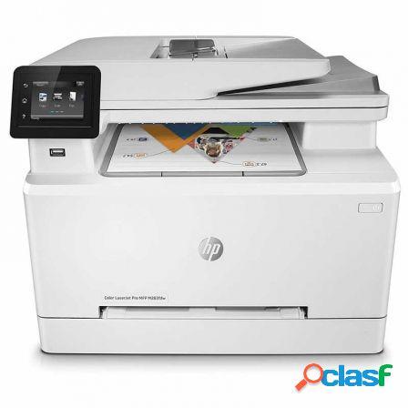 Multifuncion hp wifi con fax laserjet pro color m283fdw -