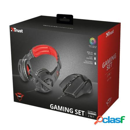 Pack trust gaming gxt 784 - auriculares circumaurales con