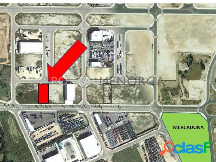 Parcela industrial en venta en Polígono de Mahón,