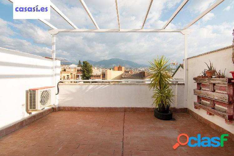 Piso con espectacular terraza en Huetor Vega
