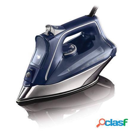 Plancha de vapor rowenta pro master azul - 2800w - vapor