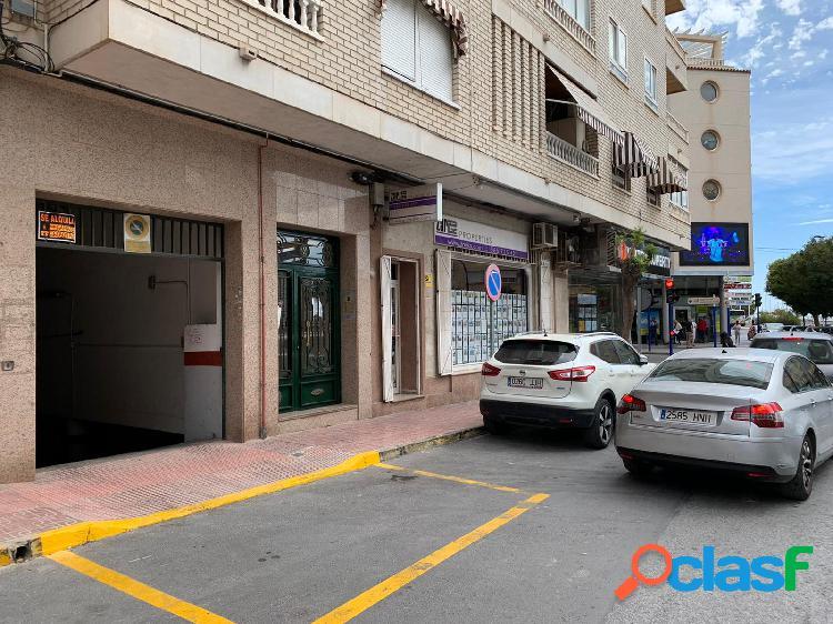 Plaza de garaje en el centro de Torrevieja