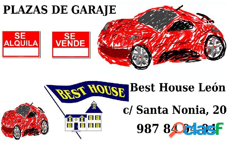 Plaza de garaje en venta en Eras de Renueva.