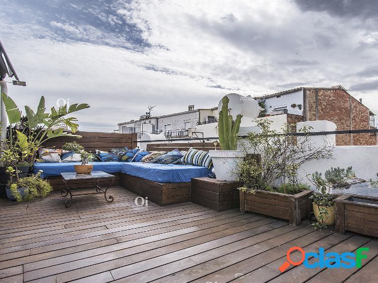 Precioso ático con terraza de 88m2 en Plaza Molina - Sant