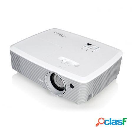 Proyector portatil dlp optoma w400 - soporte full 3d - 4000