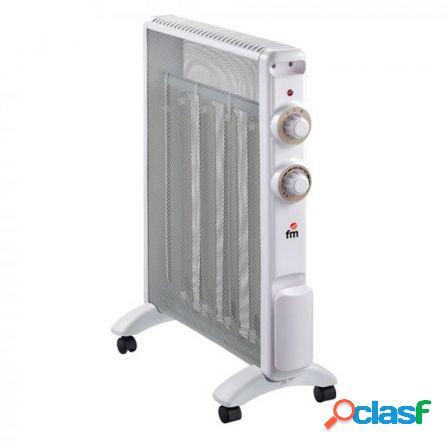 Radiador de mica fm rs-20 - 2000w - 2 potencias - calor por
