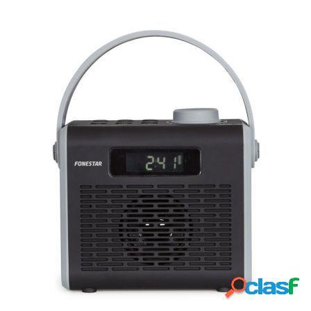 Radio portatil fonestar r2-n negra - bt4.2 - fm - 1.2w rms -