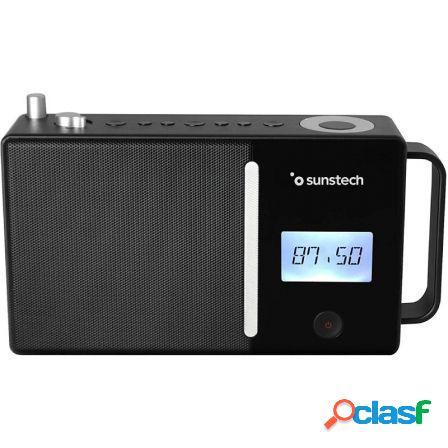 Radio portatil sunstech rpds500 black - fm - bt 5.0 - 30