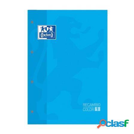Recambio oxford classic color 1 turquesa - cuaderno a4/a4+ -