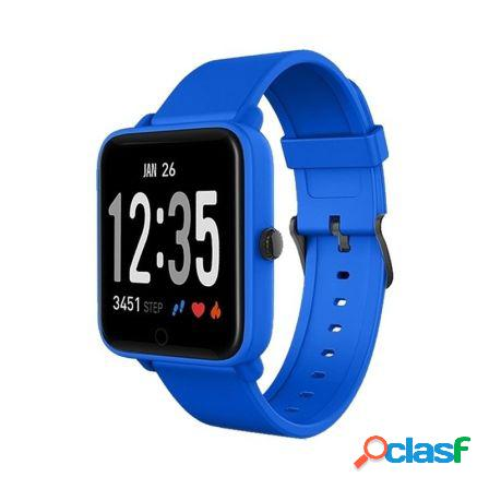 Reloj inteligente spc smartee feel 9630a azul - pantalla