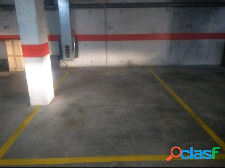 Se vende plaza de parking en zona Rafal Nou