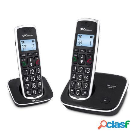 Telefono inalambrico dect spc telecom 7608 duo identificador